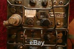 Military Signal Corps AN/GRC-9 Receiver Transmitter & Many Accessories