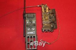Military Surplus Helmet Radio Set An Prr-9 Prt-4 Receiver Transmitter Vietnam