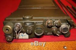 Military Surplus Rt 175 Prc 10 Receiver Transmitter Field Phone Radio Backpack
