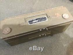 Military radio cs-137 crystal box set full of crystals transmitter receiver