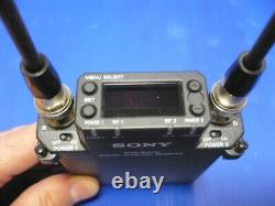 Minty Sony DWR-S02DN wireless audio receiver & two DWT-B01 transmitters, CH30-41