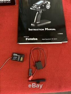 NEW! Futaba 4PL-2.4G 4 Channel S-FHSS Transmitter Radio System R2104GF Receiver