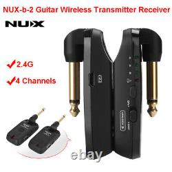 NUX-b-2 Electric Guitar Wireless Transmitter Receiver System Audio 2.4G Adapter