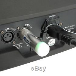 New Donner 2.4G DMX512 Wireless DJ Lighting Controller 2Transmitter+8Receiver