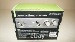 New IOGear GW4K30GH60 Ultra-Fast 60GHz Wireless 4K UHD Transmitter, Receiver Kit