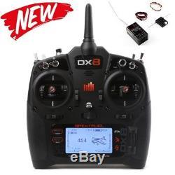 New Spektrum DX8 8CH Radio w AR8010T Receiver
