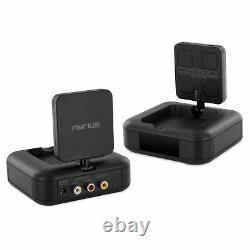 Nyrius 5.8GHz Wireless Video & Audio Sender Transmitter & 4 Receivers