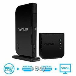 Nyrius Aries Home HDMI Digital Wireless Transmitter & Receiver for HD 1080p V