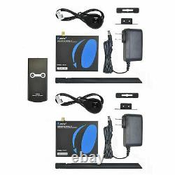 OREI 2x2 Wireless HDMI Transmitter Receiver Extender 1080P Kit IR Up to 165 Ft