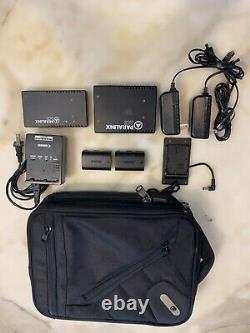 Paralinx Ace 300' Sdi Wireless Video Transmitter/receiver Case/batteries/charger