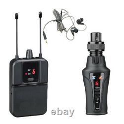 Portable UHF Wireless in-ear monitor system for stage performance transmitter