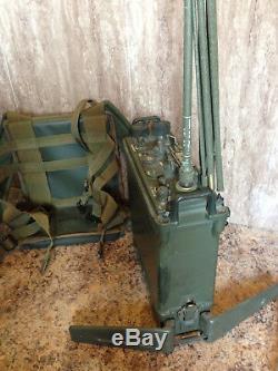 Prc 77 Receiver Transmitter Field Telephone Armee Francaise Radio Er. 95. B