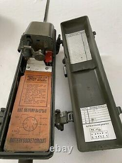 Prc6 Rt- 196 Radio Receiver Transmitter Us Signal Corp Issue With Usmc Paint