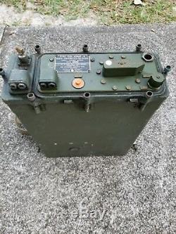 RARE 1951 CKB-43069-A Radio Transmitter Receiver Military Radio Navy MAW-1 Korea