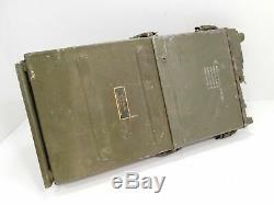 RT-176 PRC-10 Military Radio Receiver Transmitter Vietnam Era + Antenna, Handset