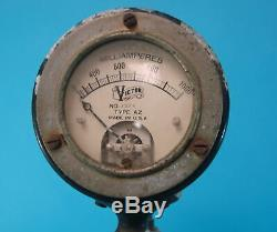 Radio Receiver Marconi Era Transmitter Victor Voltage Frequency Regulator Meter