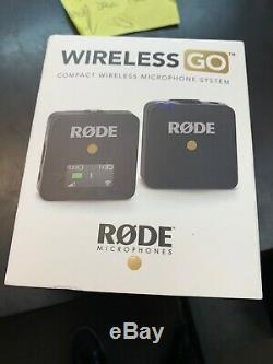 Rode Microphones Wireless Go Compact Microphone System, Transmitter & Receiver