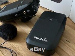 Rode RODELink Wireless Film Maker Kit Transmitter, Receiver & Lav Mic + Extras
