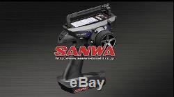 SANWA MT-44 2.4Ghz 4 Channel Digital Radio Transmitter with RX-482 Receiver