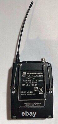SENNHEISER 1xEM2050 TWIN RECEIVER 2xSK2000 BODYPACK TRANSMITTER FREE SHIP
