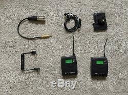 SENNHEISER EW 100 G2 Radio Mic kit Transmitter / Receiver / Mic / Cables ch70