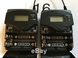 SENNHEISER G2 EW100 B Band 626-662MHz Transmitter Receiver Pair SK100 EK100 #16