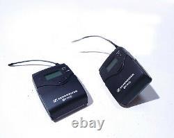SENNHEISER Lavalier Wireless Transmitter Receiver Bodypack EW 100-ENG G3 566-608
