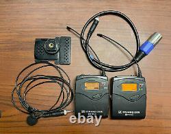 SENNHEISER SK100 EK100 G3 A 516-558 MHz Wireless Bodypack Transmitter & Receiver