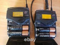 SENNHEISER SK100 G3, EK100 G3 A Band Wireless Transmitter & Receiver