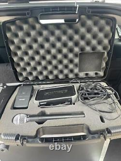 SHURE PGX4/PGX1/PS20/pg58 WIRELESS TRANSMITTER, RECEIVER WithCASE, & Microphone