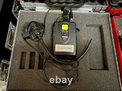 SHURE ULXP4 Transmitter 829-865MHz with ULX1-S3 Receiver & Instrument Microphone