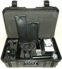 SLX4 Diversity Receiver SLX2 BETA58 Mic Transmitter SKB iSeries Utility Case