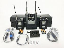 SONY Wireless System (2-Channel) WRR-862B Dual Receiver & WRT-8B Transmitters