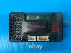 SPEKTRUM DX2E DSMR RADIO TRANSMITTER SPM2335 WITH AVC SR6100AT RECEIVER 2.4 New