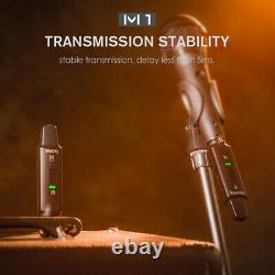 SWIFF AUDIO M1 2.4G Microphone Wireless Systems Transmitter & Receiver