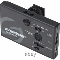 Samson Go Mic Mobile Receiver with LM8 Lavalier and Belt Pack Transmitter
