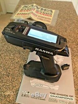 Sanwa Airtronics MT-44 4-Channel 2.4GHz Radio Transmitter with RX-482 Receiver