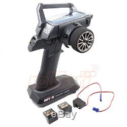 Sanwa MT-S 2.4GHz 4Ch Radio withRX-482 x 2 Receiver withTransmitter Bag RC #CB0924