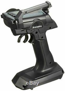 Sanwa Radio System MT-S RX-481 Transmitter & Receiver Radio Set 101A31902A F/S