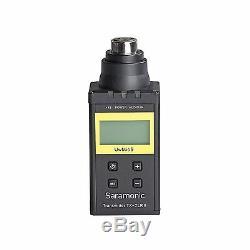 Saramonic UWMIC9 UHF Wireless Plug-in XLR Microphone System Transmitter/Receiver
