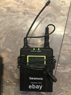 Saramonic Uwmic10 Uhf Wireless Microphone Receivers Rx10 Transmitter Tx10