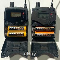Sennheiser 300 IEM G3 IEM Transmitter and Receiver Set DUAL A Band