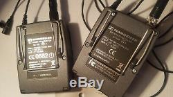 Sennheiser EW 100-ENG G2 Wireless Receiver AND Transmitter with cable and case