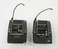 Sennheiser EW 100 G3 566-608 MHz SK100 + EK100 Transmitter Receiver Pair Set
