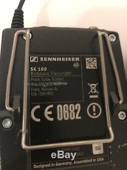 Sennheiser EW 100 G3 Bodypack Transmitter & Receiver withLav Mic