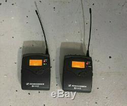 Sennheiser EW 100 G3 EK 100 & SK 100 Transmitter/Receiver- 566-608 MHz