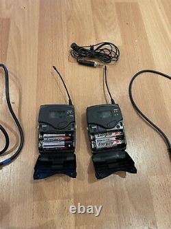 Sennheiser EW 100 G3 Wireless Kit Transmitter & Receiver + Radio Microphone