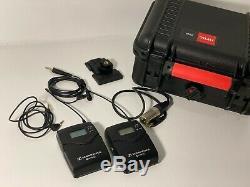 Sennheiser EW 112P G3 Wireless Mic System SK100 Transmitter, EK100 Receiver