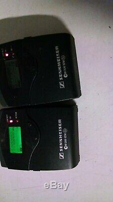 Sennheiser EW 300 IEM G2 Bodypack Receiver & Transmitter Range A 518-554 MHz