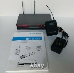 Sennheiser EW100 G2 626-662 MHz Wireless Bodypack Transmitter & Receiver Works